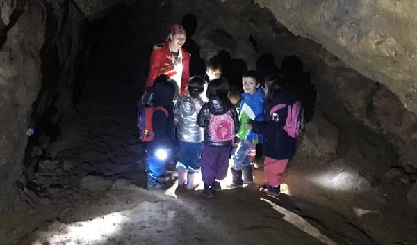Auf Schatzsuche in der Kluterhöhle