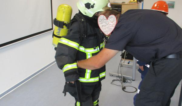 Besuch der freiwilligen Feuerwehr