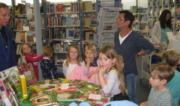 Führung durch die Stadtbücherei