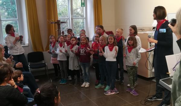 Rotkehlchen der Bruchfeld-Grundschule
