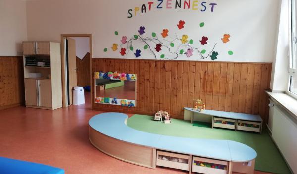 """Unsere neue Kinderkrippe """"Spatzennest"""""""